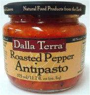 Dalla Terra Roasted Pepper Antipasto 375 ml.