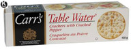 Carr's Table water crackers with cracked pepper 125 gr., 12/cs