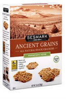 Sesmark Ancient Grains Parmesan Herb 100 gr., 6/cs Kosher