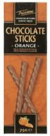 Trianon chocolate sticks - Orange 75 gr., 12/cs