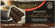 Maitre Truffout Dark chocolate Espresso cream filling Grazioso 100 gr., 16/cs