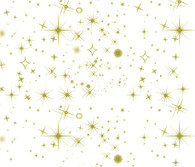 "GOLD STARS Printed Cellophane roll  40""x100'"