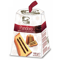 Pandoro 100gr , GMO Free perfect for Christmas. Pandoro is a type of sweet bread loaf originally from Milan, usually prepared and enjoyed for Christmas and New Year.