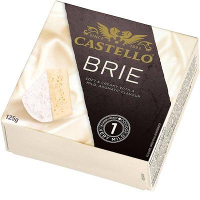 Rosenborg Brie Cheese 125 gr. 12/cs
