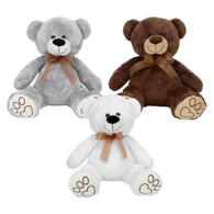 "Bear Plush 3 styles 10""x11.5"""
