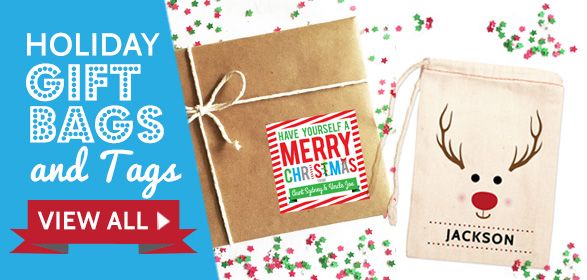 Holiday Gift Tags & Bags