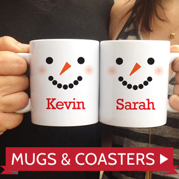 Personalized Mugs and Coasters