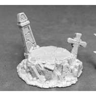 Reaper Miniatures: Accessories: Graveyard Display Base (Resin)