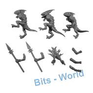 Warhammer Bits: Seraphon Bastiladon - Skinks 3x