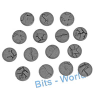 WARHAMMER BITS: SHATTERED DOMINION BASES - 32mm ROUND BASES x15