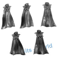Warhammer Bits: Daughters Of Khaine Doomfire Warlocks - Rider Torsos/Cloaks x5