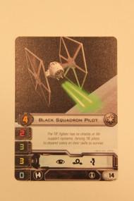 STAR WARS X-WING BLACK SQUADRON PILOT ALTERNATE ART CARD (U-UA 150010)