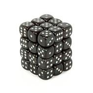 Chessex: Borealis: 12mm D6 Smoke/Silver (36)