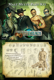 Wyrd: Through the Breach - Male Multi-Part Kit