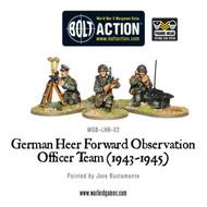 Bolt Action: Germany - Heer Forward Observation Officer Team (1943-45)