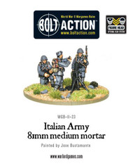 Bolt Action: Italy - Army 81mm Medium Mortar Team
