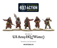 Bolt Action: USA - Army HQ (Winter)