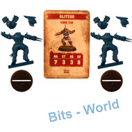 WARHAMMER BITS: BLOOD BOWL BLOOD BOWL CORE GAME - HUMAN BLITZER X2