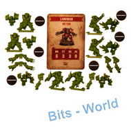 Warhammer Bits: Blood Bowl Blood Bowl Core Game - Orc Lineman X6