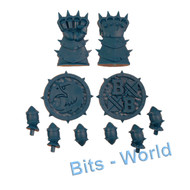 WARHAMMER BITS: BLOOD BOWL BLOOD BOWL CORE GAME - HUMAN TOKENS