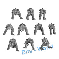 WARHAMMER 40K BITS: TYRANID NEOPHYTE HYBRIDS - LEGS X10