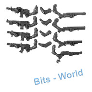 WARHAMMER 40K BITS: TYRANID NEOPHYTE HYBRIDS - 3RD GEN AUTOGUNS X4 & SHOTGUNS X4