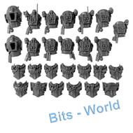 WARHAMMER 40K BITS: TYRANID NEOPHYTE HYBRIDS - TORSOS X13