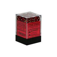 Chessex: Borealis: 12mm D6 Magenta/Gold (36)