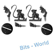 Warhammer Bits: Blood Bowl Skavenblight Scramblers - Blitzers X2