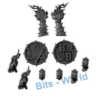 Warhammer Bits: Blood Bowl Skavenblight Scramblers - Tokens
