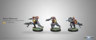 Infinity: Mercenaries - Kratot Renegades - 2 SMGS & Chest Mine
