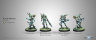Infinity: Tohaa - Kaauri Sentinels - Combi Rifle/Boarding Shotgun