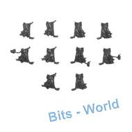 Warhammer Bits: Nighthaunt Hexwraiths/Black Knights - 5x Wraith Legs