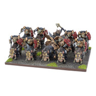 Kings of War: Abyssal Dwarfs - Slave Orc Gore Rider Regiment