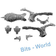 WARHAMMER/40K BITS: CHAOS DAEMONS BLOOD THRONE/SKULL CANNON - CHASSIS ASSEMBLY