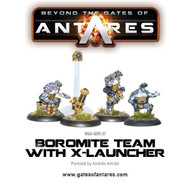 Beyond the Gates of Antares: Boromite - Team with X-Launcher