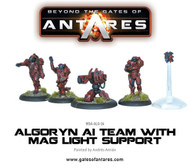 Beyond the Gates of Antares: Algoryn - AI Team with Mag Light Support