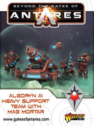 Beyond the Gates of Antares: Algoryn - AI Heavy Support Team with Mag Mortar