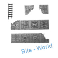 WARHAMMER/40K BITS -  BASILICA - FLOORS and LADDER