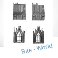 Warhammer 40k Bits: Terrain Garden Of Morr - Mausoleum With Hourglass Icon