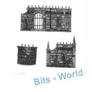 Warhammer 40k Bits: Terrain Garden Of Morr - Walls