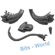 WARHAMMER 40K BITS: TYRANID TYRANT/SWARMLORD - TAIL FOR STANDING OPTION