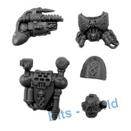 WARHAMMER 40K BITS: SPACE MARINES COMMAND SQUAD - APOTHECARY UPGRADE