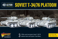 Bolt Action: Soviet Union - T-34/76 Medium Tank Platoon