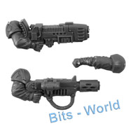 WARHAMMER 40K BITS - ASTRA MILITARUM CADIAN COMMAND SQUAD - PLASMA & MELTA GUN