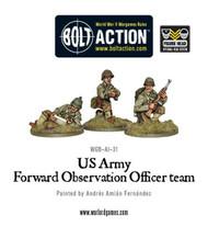 Bolt Action: USA - Forward Observer Officer Team