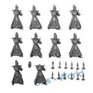 Warhammer Bits: Darkling Covens Dreadspears - Bodies 10x