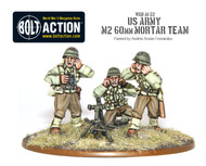 Bolt Action: USA - Army M2 60mm Mortar Team