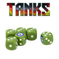 Tanks: British Dice Set