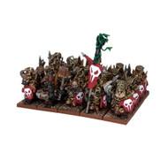 Kings of War: Abyssal Dwarfs - Immortal Guard Regiment